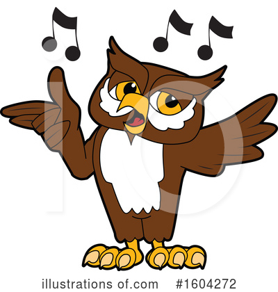 Royalty-Free (RF) Owl Clipart Illustration by Toons4Biz - Stock Sample #1604272