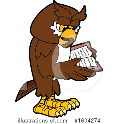 Royalty-Free (RF) Owl Clipart Illustration by Toons4Biz - Stock Sample #1604274