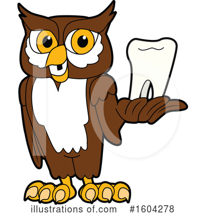 Royalty-Free (RF) Owl Clipart Illustration by Toons4Biz - Stock Sample #1604278