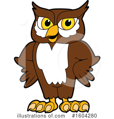 Owl Clipart #1604280 by Toons4Biz