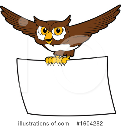 Royalty-Free (RF) Owl Clipart Illustration by Toons4Biz - Stock Sample #1604282