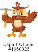 Owl Clipart #1660326 by Morphart Creations
