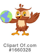 Owl Clipart #1660328 by Morphart Creations