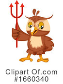 Owl Clipart #1660340 by Morphart Creations