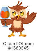 Owl Clipart #1660345 by Morphart Creations