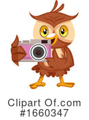 Owl Clipart #1660347 by Morphart Creations