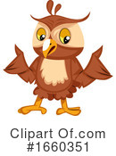 Owl Clipart #1660351 by Morphart Creations