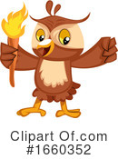 Owl Clipart #1660352 by Morphart Creations