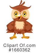 Owl Clipart #1660362 by Morphart Creations