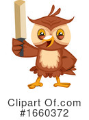 Owl Clipart #1660372 by Morphart Creations