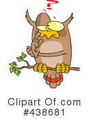 Owl Clipart #438681 by toonaday