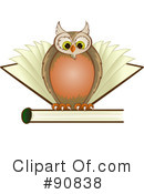 Owl Clipart #90838 by Paulo Resende