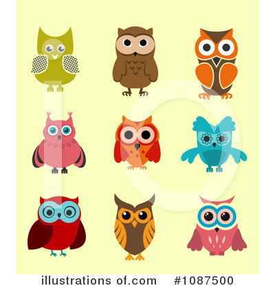 Owl Clipart #1087500 by Vector Tradition SM