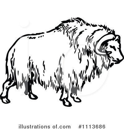 Ox Clipart #1113686 - Illustration by Prawny Vintage