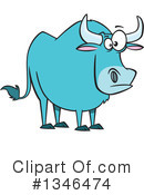 Ox Clipart #1346474 by toonaday
