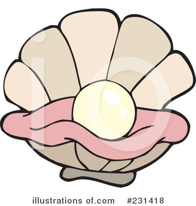 More Clip Art Illustrations of Oyster