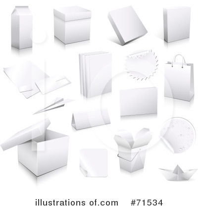 Royalty-Free (RF) Package Clipart Illustration by Anja Kaiser - Stock Sample #71534
