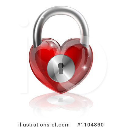 Padlock Clipart #1104860 by AtStockIllustration