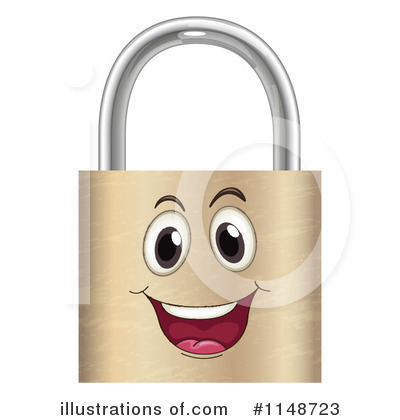 Padlock Clipart #1148723 by Graphics RF