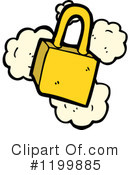Padlock Clipart #1199885 by lineartestpilot