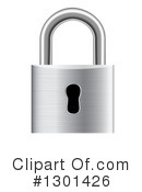 Padlock Clipart #1301426 by vectorace