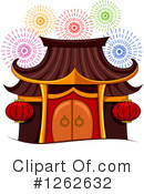 Royalty-Free (RF) Pagoda Clipart Illustration #1262632