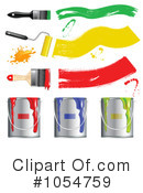 Paint Clipart #1054759 by vectorace