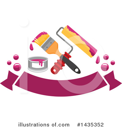 Paint Clipart #1435352 by Vector Tradition SM