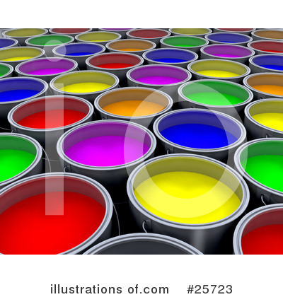 Paint Clipart #25723 by KJ Pargeter