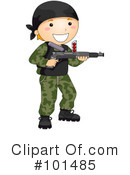 Royalty-Free (RF) paintball Clipart Illustration #101485