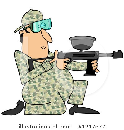 Paintball Clipart #1217577 by djart
