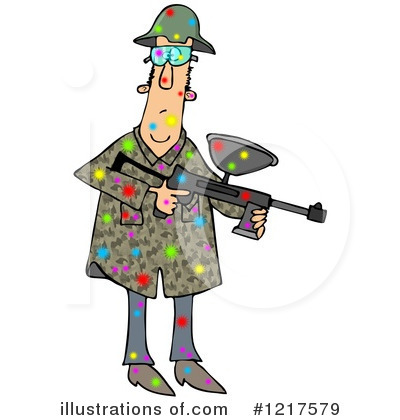 Paintball Clipart #1217579 by djart