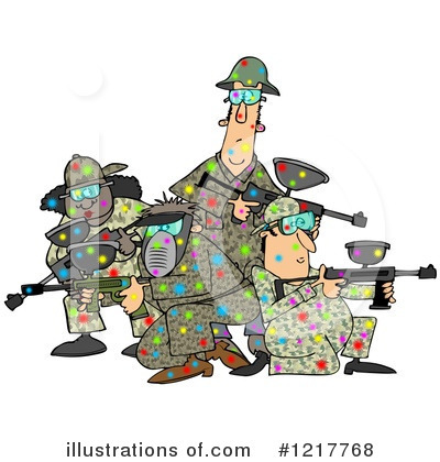 Paintball Clipart #1217768 by djart