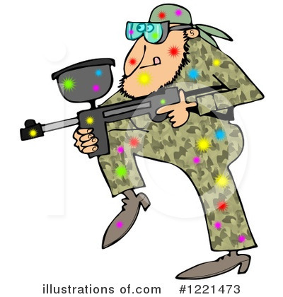 Paintball Clipart #1221473 by djart