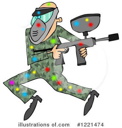 Paintball Clipart #1221474 by djart