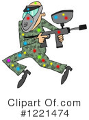 Paintball Clipart #1221474