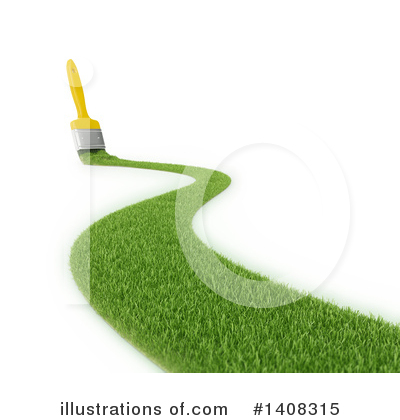 Royalty-Free (RF) Paintbrush Clipart Illustration by Mopic - Stock Sample #1408315
