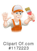 Royalty-Free (RF) Painter Clipart Illustration #1172223