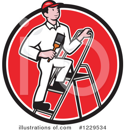 Ladder Clipart #1229534 by patrimonio