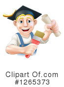 Royalty-Free (RF) Painter Clipart Illustration #1265373