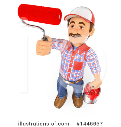 Worker Clipart #1446657 by Texelart