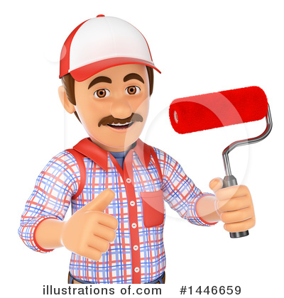 Worker Clipart #1446659 by Texelart