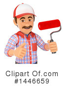 Painter Clipart #1446659 by Texelart