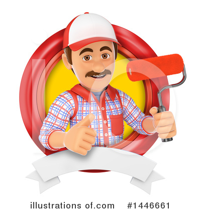 Worker Clipart #1446661 by Texelart