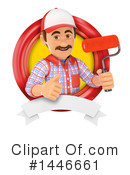 Painter Clipart #1446661 by Texelart