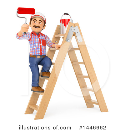 Ladder Clipart #1446662 by Texelart