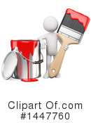 Painter Clipart #1447760 by Texelart