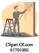 Painter Clipart #1701060 by Vector Tradition SM
