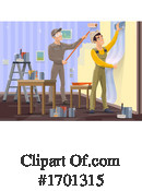 Painter Clipart #1701315 by Vector Tradition SM