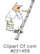 Royalty-Free (RF) painter Clipart Illustration #231458